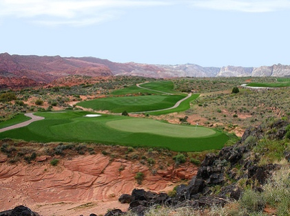 Ledges Golf Club,Staint George, Utah,  - Golf Course Photo
