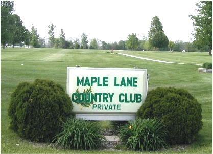 Maple Lane Country Club,Elmwood, Illinois,  - Golf Course Photo
