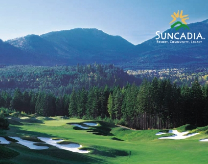 Golf Course Photo, Suncadia Resort, Prospector Golf Course, Cle Elum, 98922