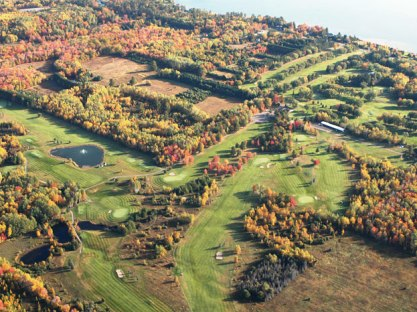 Golf Course Photo, Michigan Tech. University G. C., Houghton, 49931