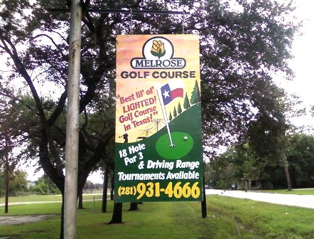Melrose Golf Course, Houston, Texas, 77076 - Golf Course Photo