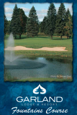 Garland Golf Course -Fountains,Lewiston, Michigan,  - Golf Course Photo