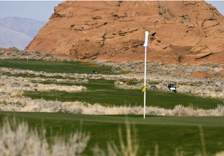 Sand Hollow Golf Resort, Links Course,Hurricane, Utah,  - Golf Course Photo