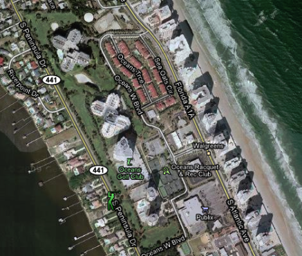 Oceans West Golf Club,Daytona Beach Shores, Florida,  - Golf Course Photo