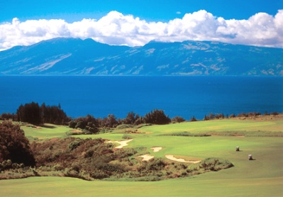 Kapalua Golf Resort, The Plantation Course,Napili, Hawaii,  - Golf Course Photo