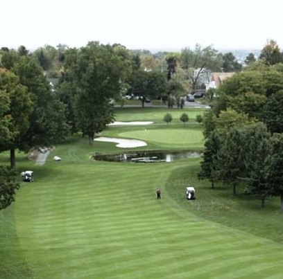 Golf Course Photo, Bellevue Country Club, Syracuse, 13207