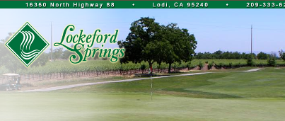 Golf Course Photo, Lockeford Springs Golf Course, Lodi, 95240