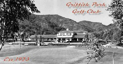 Golf Course Photo, Griffith Park Golf Courses, Harding Course, Los Angeles, 90027