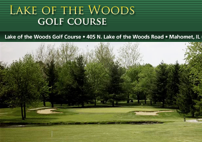 Lake Of The Woods Golf Club - 18,Mahomet, Illinois,  - Golf Course Photo