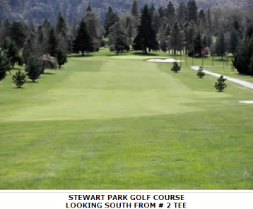 Stewart Park Golf Course,Roseburg, Oregon,  - Golf Course Photo