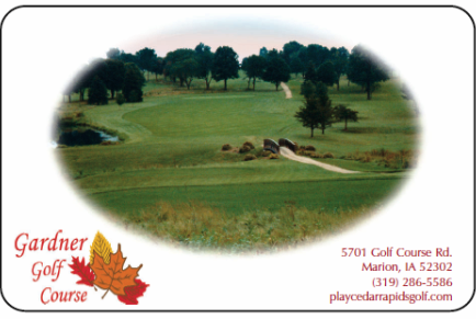 Golf Course Photo, Gardner Memorial Golf Course, Marion, 52302