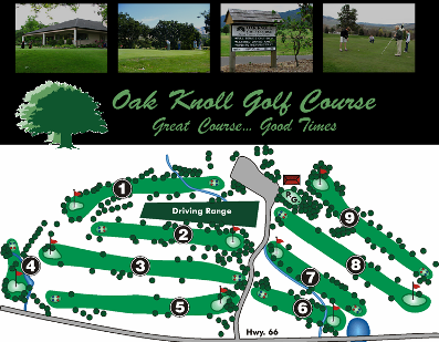 Oak Knoll Golf Course CLOSED 2012,Ashland, Oregon,  - Golf Course Photo