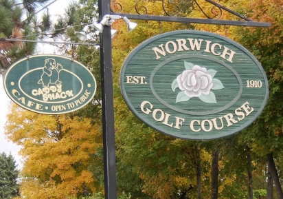 Golf Course Photo, Norwich Golf Club, Norwich, 06360