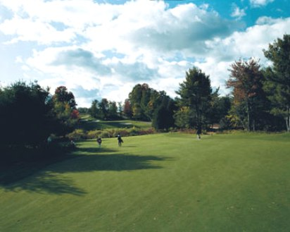 Mistwood Golf Course -White-Blue,Lake Ann, Michigan,  - Golf Course Photo