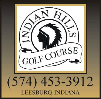 Indian Hills Golf Course, Leesburg, Indiana, 46538 - Golf Course Photo
