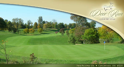 Golf Course Photo, Deer Run Country Club, CLOSED 2014, Cincinnati, 45233