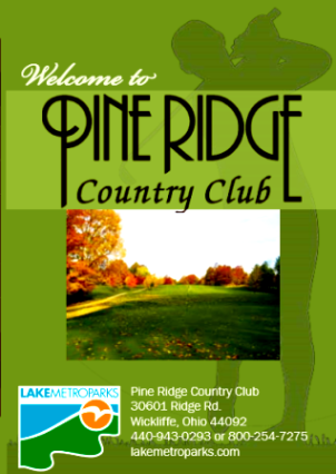 Pine Ridge Country Club, Wickliffe, Ohio, 44092 - Golf Course Photo