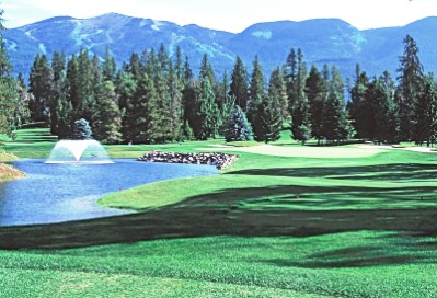 Golf Course Photo, Whitefish Lake Golf Club, North Course, Whitefish, 59937