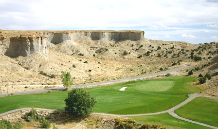 Millsite Golf Course,Ferron, Utah,  - Golf Course Photo