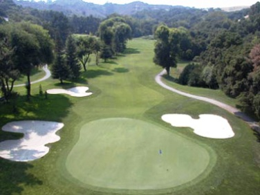 Saratoga Country Club, Saratoga, California, 95070 - Golf Course Photo