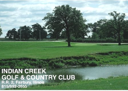 Golf Course Photo, Indian Creek Golf & Country Club, Fairbury, 61739