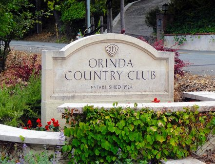 Orinda Country Club,Orinda, California,  - Golf Course Photo