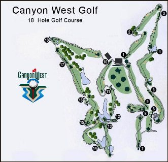 Golf Course Photo, Canyon West Golf Club, Weatherford, 76087