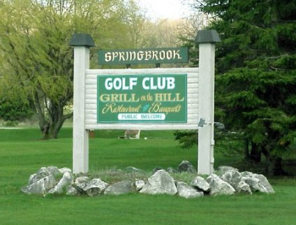 Springbrook Golf Club, Walloon Lake, Michigan, 49796 - Golf Course Photo
