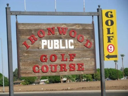 Ironwood Public Golf Course,Yuma, Arizona,  - Golf Course Photo