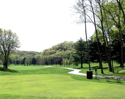 Drugans Castle Mound,Holmen, Wisconsin,  - Golf Course Photo