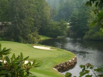 Highlands Falls Golf Course,Highlands, North Carolina,  - Golf Course Photo