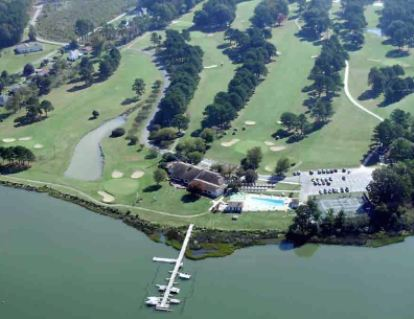 Golf Course Photo, Eastern Shore Yacht & Country Club, Melfa, 23410
