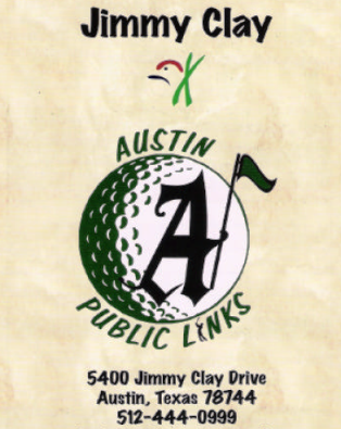 Jimmy Clay Golf Course,Austin, Texas,  - Golf Course Photo