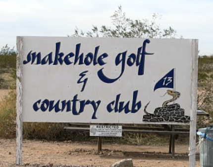 Snake Hole Golf Course,Apache Junction, Arizona,  - Golf Course Photo