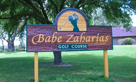 Babe Zaharias Golf Course,Tampa, Florida,  - Golf Course Photo