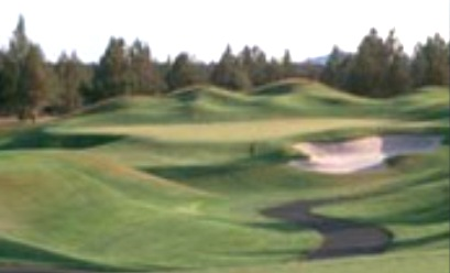 Golf Course Photo, Eagle Crest Resort, Mid-Iron Golf Course, Redmond, 97756