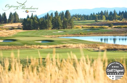 Osprey Meadows Golf Course at Tamarack Resort, CLOSED 2015,Tamarack, Idaho,  - Golf Course Photo