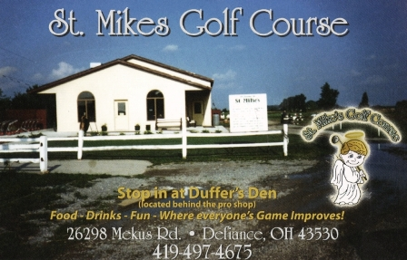 St. Mikes Golf Course,Defiance, Ohio,  - Golf Course Photo