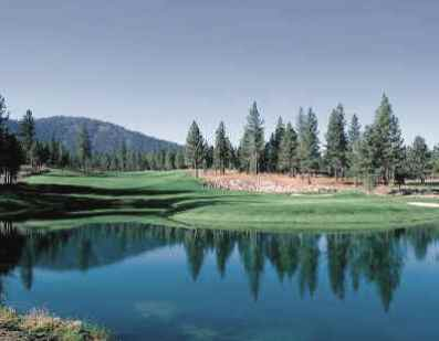 Golf Course Photo, Lahontan Golf Club, Truckee,