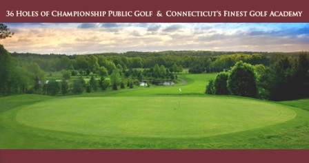 Lyman Orchards Golf Club -Player,Middlefield, Connecticut,  - Golf Course Photo