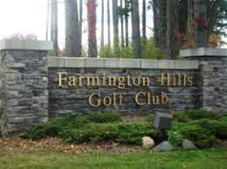 Golf Course Photo, Farmington Hills Golf Course, Farmington Hills, 48331