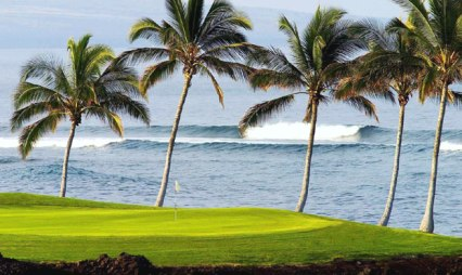 Waikoloa Beach Golf Club, Beach Course,Waikoloa, Hawaii,  - Golf Course Photo