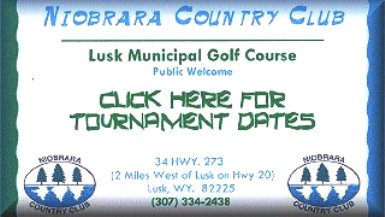 Niobrara Country Club,Lusk, Wyoming,  - Golf Course Photo
