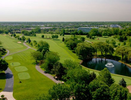 Willow Crest Golf Club,Oak Brook, Illinois,  - Golf Course Photo