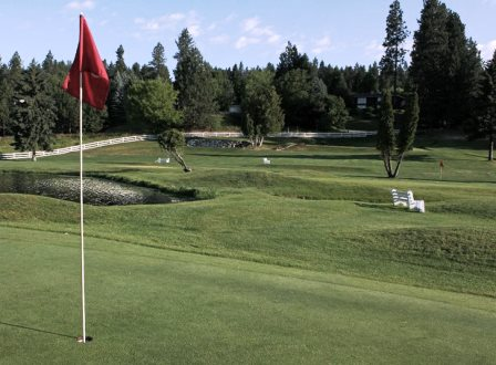 Ponderosa Springs G C, Coeur D Alene, Idaho,  - Golf Course Photo