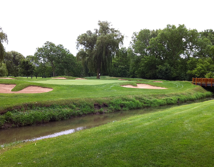 Bob O Link Golf Club, Highland Park, Illinois, 60035 - Golf Course Photo