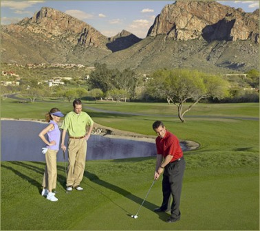 El Conquistador Resort & Country Club - Pusch Ridge,Tucson, Arizona,  - Golf Course Photo