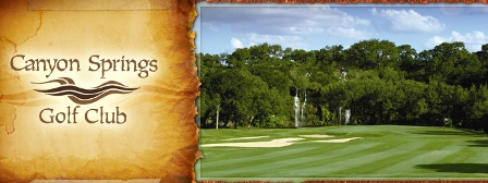 Canyon Springs Golf Club,San Antonio, Texas,  - Golf Course Photo