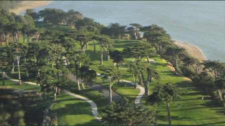 TPC Harding Park Golf Course, Harding, San Francisco, California, 94132 - Golf Course Photo