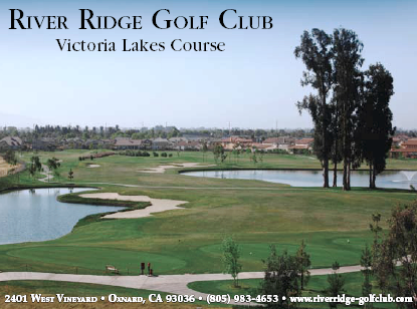 Golf Course Photo, River Ridge Golf Club, Victoria Lakes Course, Oxnard, 93030